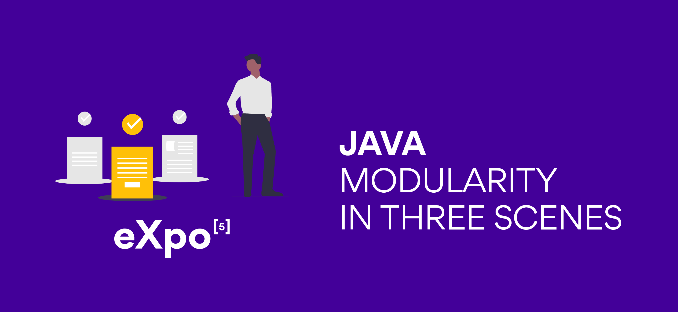 Java modularity in three scenes