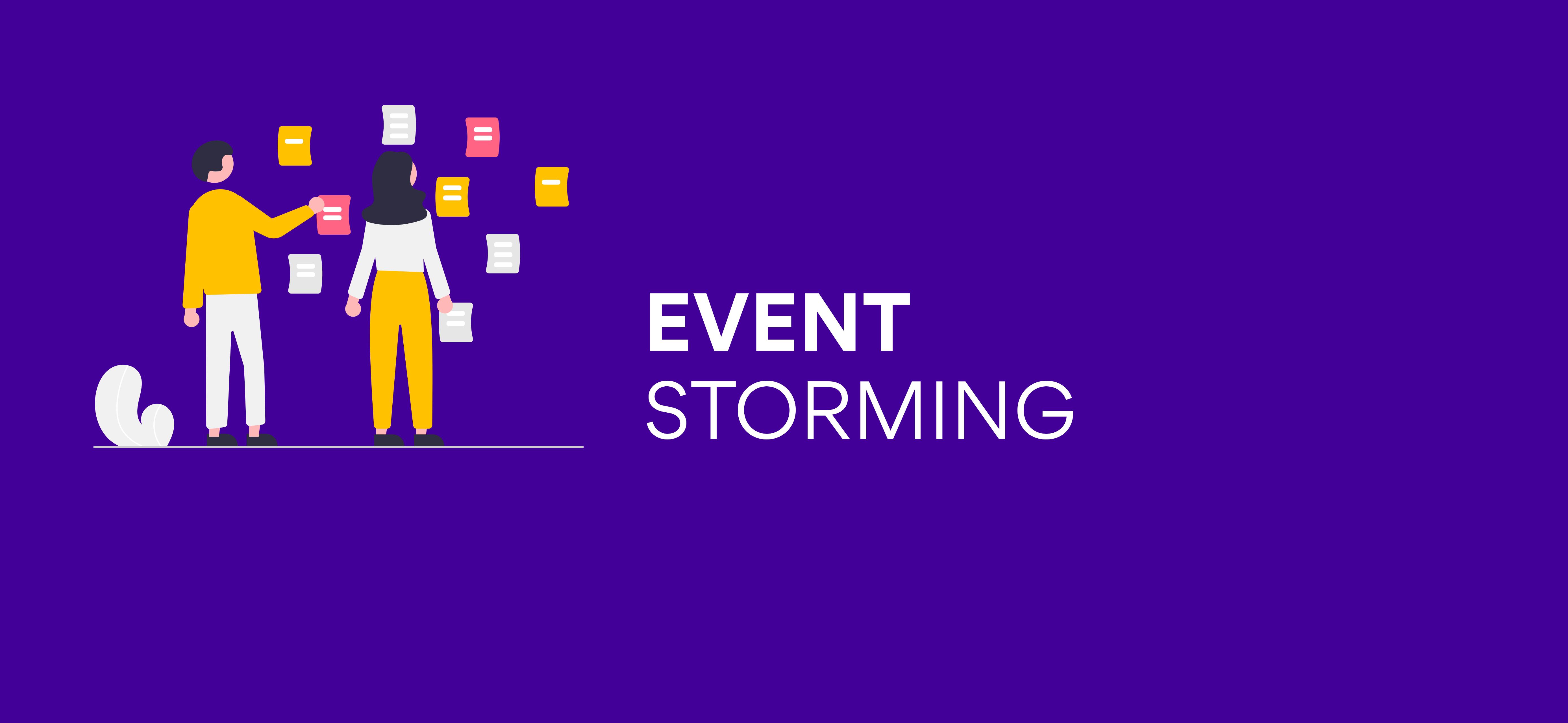 Event Storming, czyli jak wyciągnąć wszystkie informacje odbiznesu bezstosowania przemocy ;)